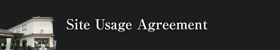 Site Usage Agreement