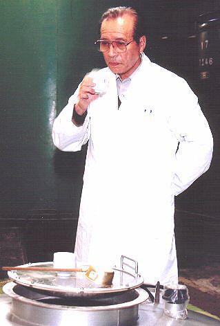 Master brewer, Mr. Oikawa